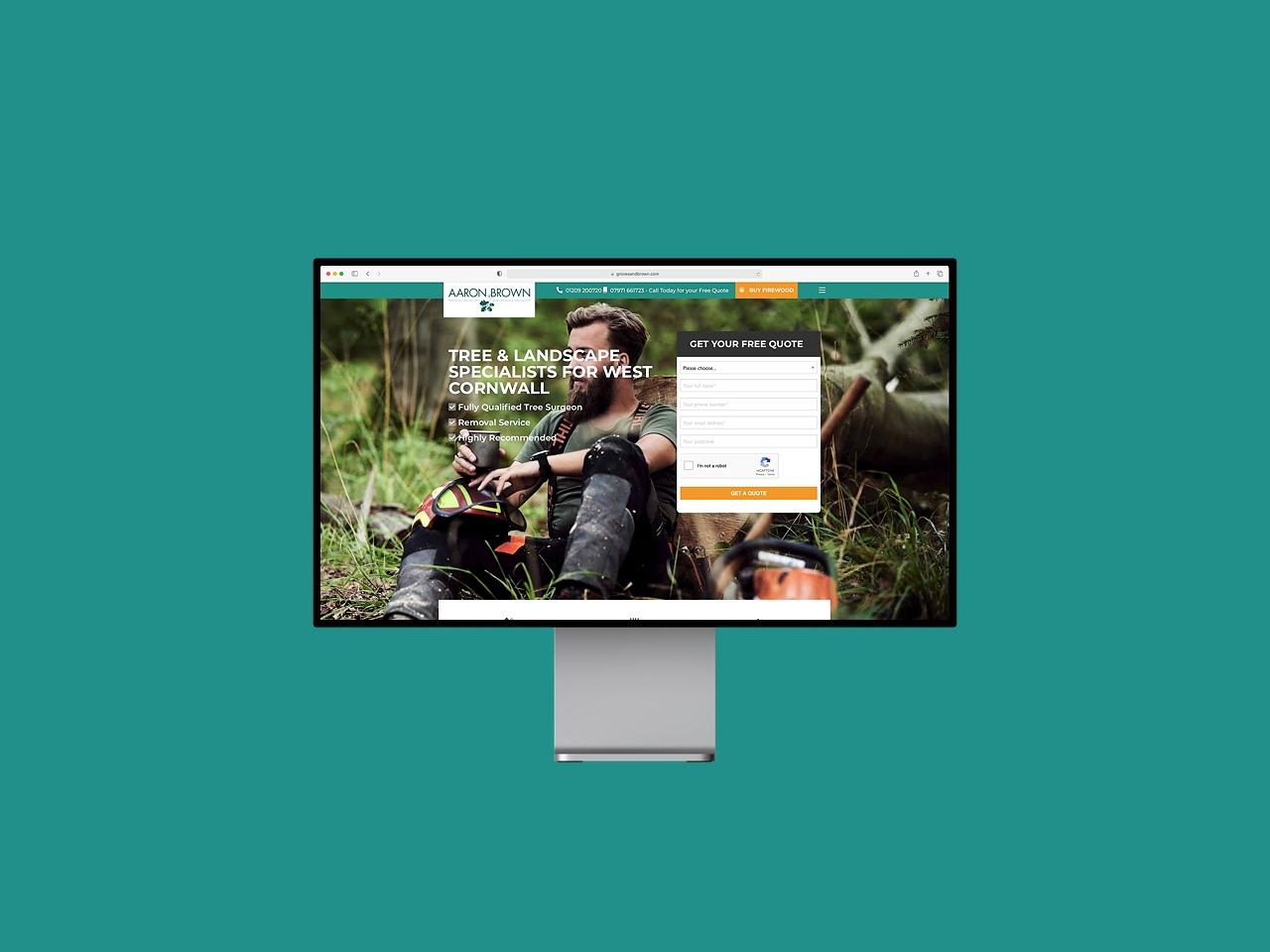 Hosie Web Design support Groves & Brown Tree Surgeons